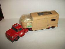 Matchbox - King-size - Dodge Tracktor & Articulé Chevaux Van N° K -18