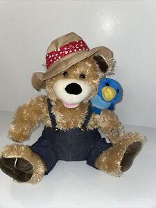 Zip A Dee Doo Dah Singing Bear w/Bluebird on Shoulder Pete & Tweet Duet