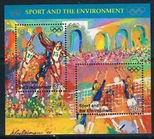 Nations Unies New York 1996 Mi Bloc B13 Mnh**  sport and the environment
