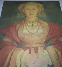 Dethrone ANNE OF CLEVES 1540 Queen of England King Henry VIII Hans Holbein PRINT