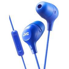 JVC HAFX38M/Azul Malvavisco Ajuste Personalizado en Auriculares con control remoto y micrófono