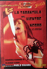 LA TARANTOLA DAL VENTRE NERO TARANTULA VIENTRE NEGRO - Cavara DVD Giannini