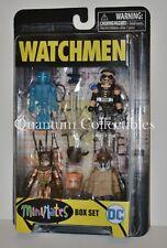 Watchmen Minimates 4-Pack Box Set:Dr. Manhattan,Nite Owl,Rorschach,The Comedian