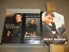 RICKY MARTIN LIVIN' LA VIDA LOCA 1999 TOUR POSTER & 2 OTHER POSTERS (LOT OF 3)