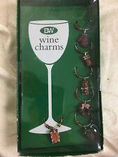 Boston Warehouse Wine Glass Charms Christmas