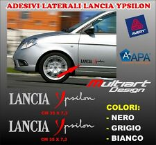 ADESIVI LANCIA YPSILON FIANCATA 2X stickers PROFESSIONALI