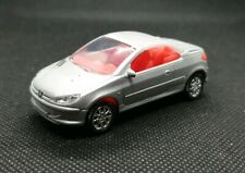 1:64 DIECAST MODEL CARS, peugeot 206 cc can be made in to a keyring GREAT GIFTS.