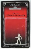 Elven Deckers Male and Female #20-572 Shadowrun RPG Metal Ral Partha Figure
