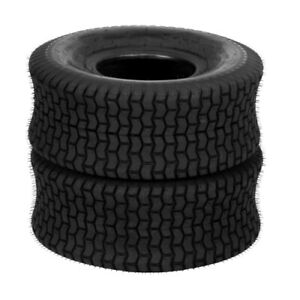 2 New 20x8.00-8 20x8x8 Turf Tires Lawn Mower Tractor 4 Ply Rated Tubeless
