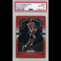 2019-20 Cam Reddish Panini Red Prizm /299 Rookie RC #256 PSA 10 Hawks Gem Mint