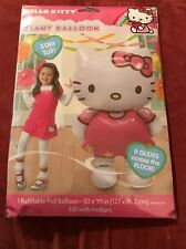 "Giant Hello Kitty 3D Airwalker 50""  Jumbo Foil Balloon Party Supplies Home Decor"