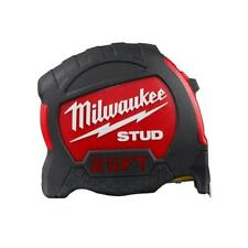 Milwaukee 48-22-9925 25' STUD Tape Measure w. Reinforced Impact Restistant Frame