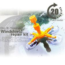 Windshield Windscreen Repair Tool Set DIY Car Wind Glass Kit For Chip Crack