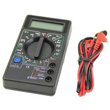 Digital Multimeter with Buzzer Ohm Voltage Ampere Meter + Test Probe LCD