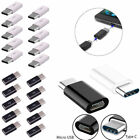 Lot  USB 3.1 Type C Male to Micro USB Female Adapter Converter Connector USB-C
