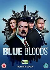 BLUE BLOODS COMPLETE SERIES 4 DVD Fourth 4th Season Four UK Release NEW R2