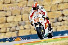 Marco Simoncelli San Carlo Honda Gresini Moto GP Aragon 2010 Photograph 1
