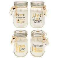 Home Sentiments Large Jar Candle, Perfect Gift Idea, Birthday, Housewarming