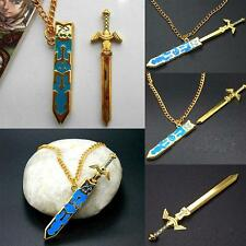 Newest Cosplay Legend Of Zelda Removable Master Sword Necklace Pendant Jewelry