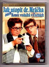 Jak Utopit Dr. Mracka aneb Konec Vodniku v Cechach DVD box English subtitles