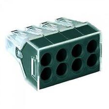5 x 8-Way Wago 773-108 Push Connectors 2.5mm²