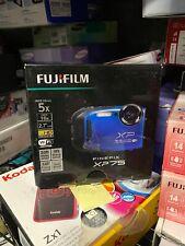 * Fujifilm FinePix XP 75 16.4MP Waterproof Digital Camera 2.7-inch LCD Blue