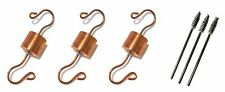 3 Copper Hummingbird Feeder Ant Guards by Tip-Top Garden Supply, Made in USA