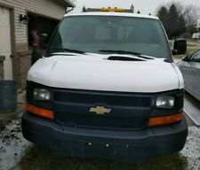 Chevrolet Express 1500 Cargo Van 2012 White Exterior / Spacious / Bench Seating