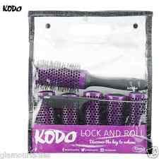 KODO Lock & Roll Brosse de cheveux Set 45mm,6 Brushes 1 BLOCAGE manche 1 Pin
