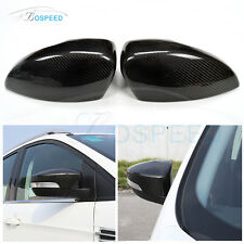 Carbon Fiber Replacement Mirror Covers Cap for Ford Focus ST Kuga 2013 2014 2015