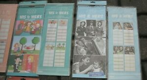 2022 HIS & HERS plus Family Organiser Planner with 2 Columns - Choice of 4
