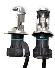 H4 H4-3 10000k Blue Hi Low Beam HID Bi - Xenon Replacment 2 Bulbs Lamps Lights
