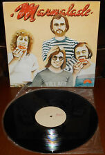 LP MARMALADE s/t (Out 80 ITALY) 1st test press pop rock NM!