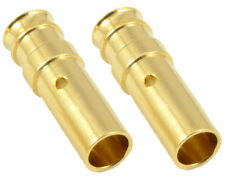 2 x RC 3.5mm Gold Bullet Female Connector Lipo Battery Car Truck Helicopter