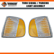 2X Front Turn Parking/Signal Light Assembly Dorman For 1997 FORD F-150