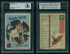 (325) 1959 Topps 65 Frank Torre Braves Authentic Autograph BVG Signed BAS