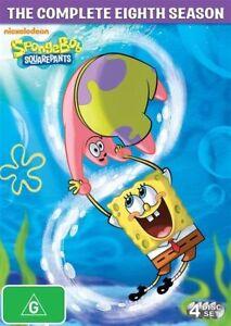 Spongebob Squarepants : Season 8 DVD (PAL, 2013, 4 Discs)