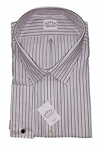 Eagle Shirtmakers Big&Tall Non-Iron Dress Shirt French Cuff