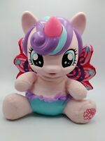 EUC My Little Pony Doll, Baby Flurry Heart With Light Up Horn And Speech.