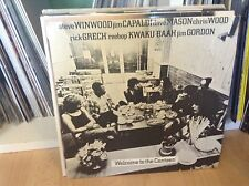 WINWOOD CAPALDI MASON WOOD Welcome To The Canteen UK vinyl LP EX/VG+