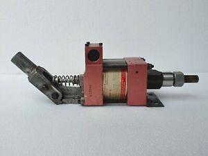 MAXIMATOR M189L Air Driven Hydraulic Pump Max Press 2000 Bar / 29000 PSI