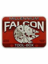 Novelty Star Wars Millennium Falcon Tool-Box Metal Storage Tin
