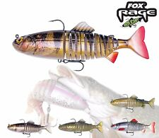 """Fox Rage lure super natural Jointed Replicant Shad 18cm 7"""" 80g Sinking trolling"""