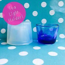 Moule en silicone-Tea Light Candle Holder Résine Homeware Make Moule