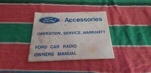 Y43 phillips car radio manual 1978 ford xd xc falcon esp gs gt
