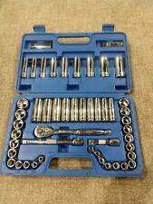 Westward No. IKEHA heavy duty 3/8 drive socket set in case
