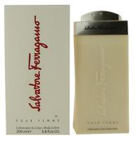Salvatore Ferragamo For Women Body Lotion 6.8oz New in Box