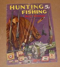 12/1936 Hunting And Fishing Magazine