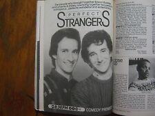 1986 TV Guide(PERFECT  STRANGERS  PREMIERE/MR. SUNSHINE/THE COSBY SHOW/JOE BASH)