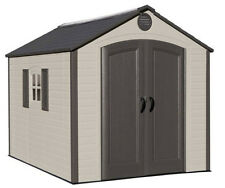Lifetime Buildings 8x10 Outdoor Storage Shed Kit - Ridge Skylight (model 60056)